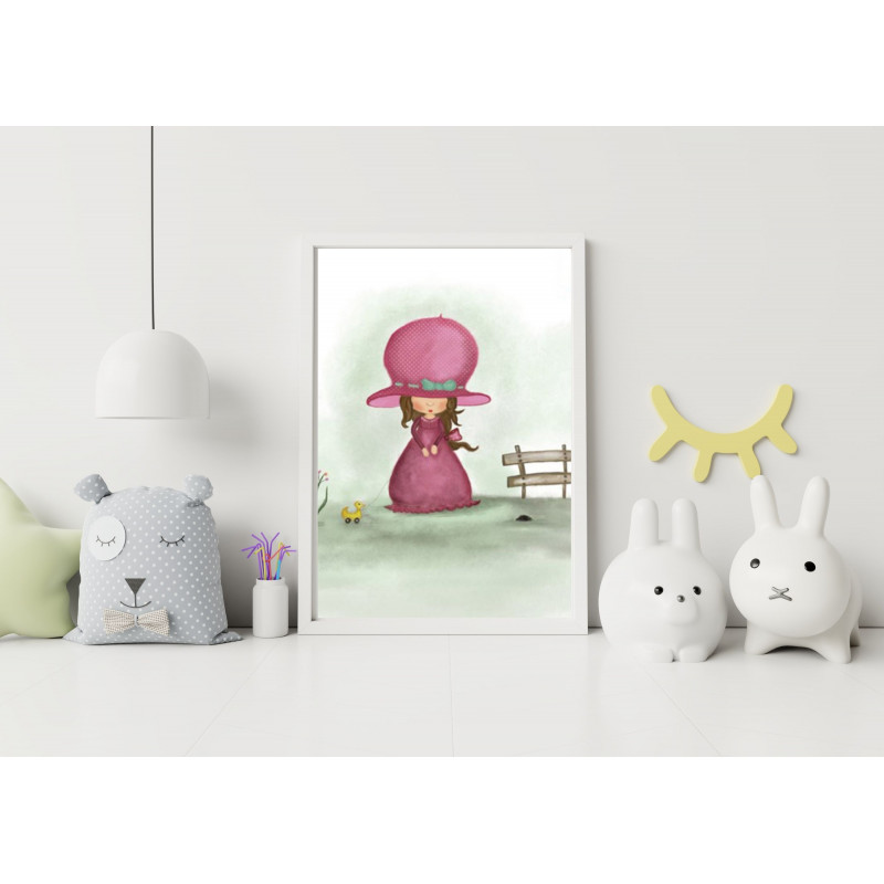 candy kingdom tea fairy -Postcard