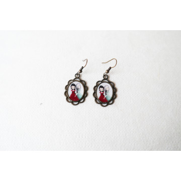 """Little red riding hood  ""   cosmetic bag"