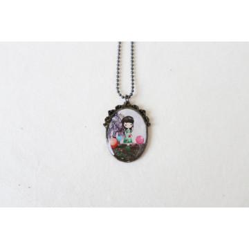 enchanted garden- boho chic earrings