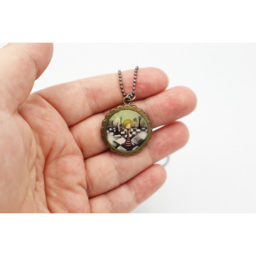 ♥ Snow-White  - XL buttons 59mm